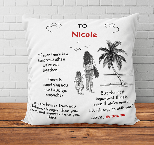 Personalized Name - I'll Always Be With You - Pillowcase