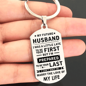 My Future Husband I Can't Wait To Marry Keyring