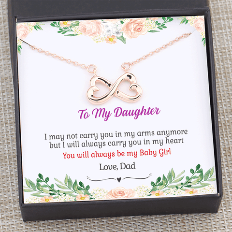 Dad to Daughter - I Will Always Carry You in My Heart