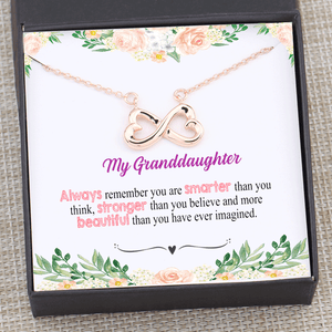 My Granddaughter Gift - Always Remember Necklace Gift Box