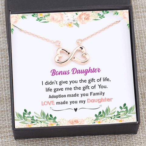 Bonus Daughter - Adoption Made You Family