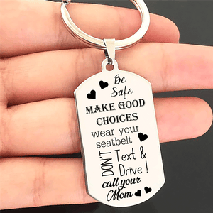Make Good Choices - Driver Keychain