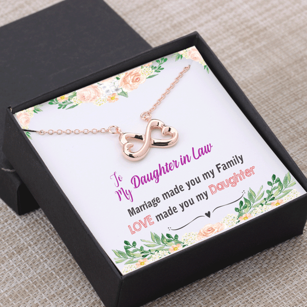 Daughter in Law Gift - Marriage Made You Family Love Made You My Daughter