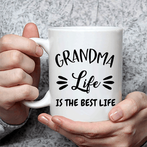 Grandma Life Is The Best Life Coffee Mug