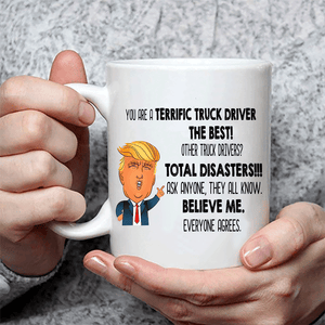 Funny Trump Terrific Truck Driver Coffee Mug
