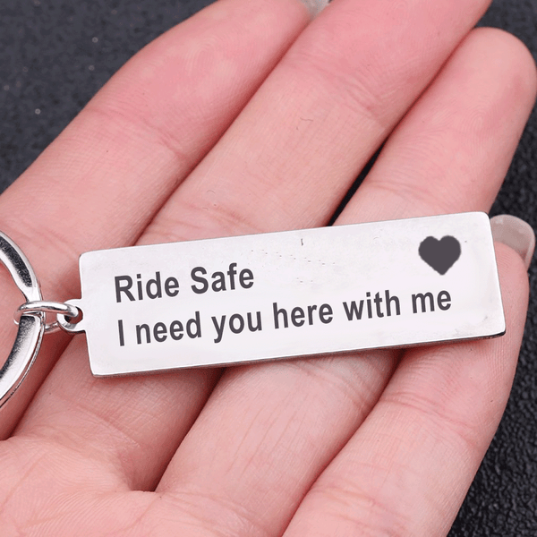 Ride Safe Keyring