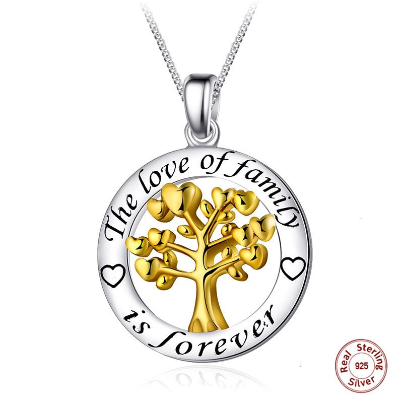 Family Tree of Life - Love Family Forever Necklace