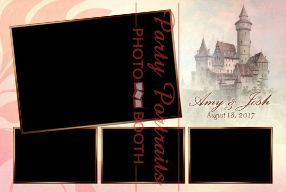 Postcard-Style Photobooth Template