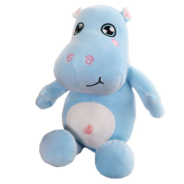 "100cm/39"" Giant Big Eyes Stuffed Hippo Plush Toy"