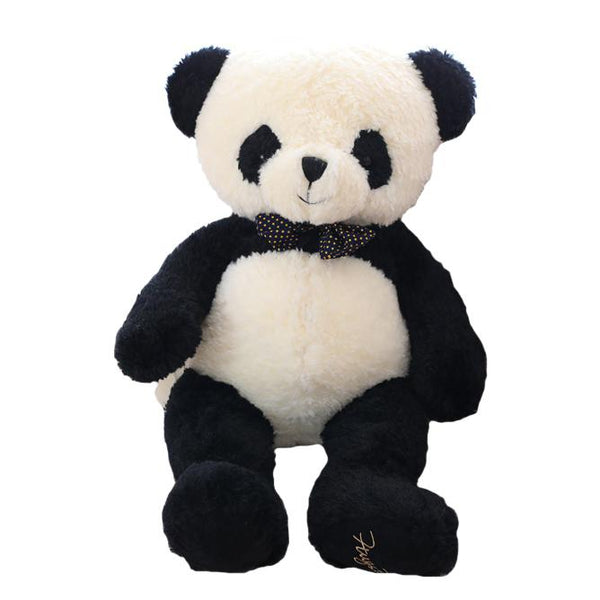 "80cm/31"" Giant Bowtie Panda Big Gift for Birthday"