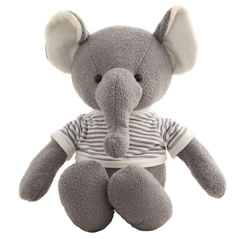 "80cm/31"" Giant Stuffed Elephant with T-shirt"