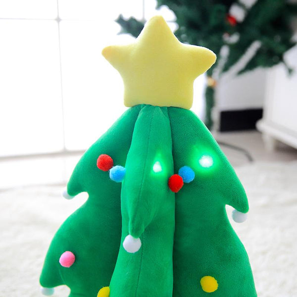 Giant LED Glowing Stuffed Decoration Christmas Tree