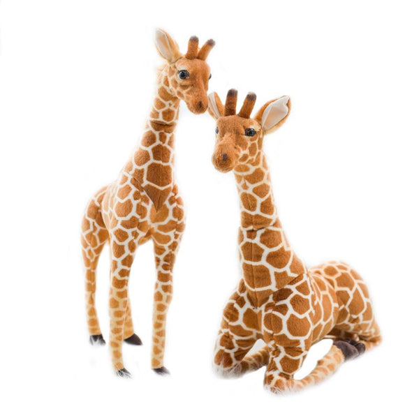 "120cm/47"" Plush Jimmy Realistic Giraffe Cuddle Plush Toy"