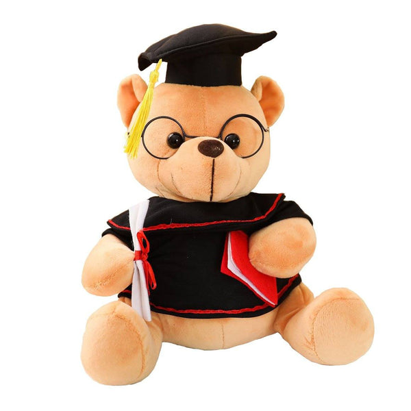 "35cm/13"" Graduation Gift Stuffed Bear Doctor Teddy"