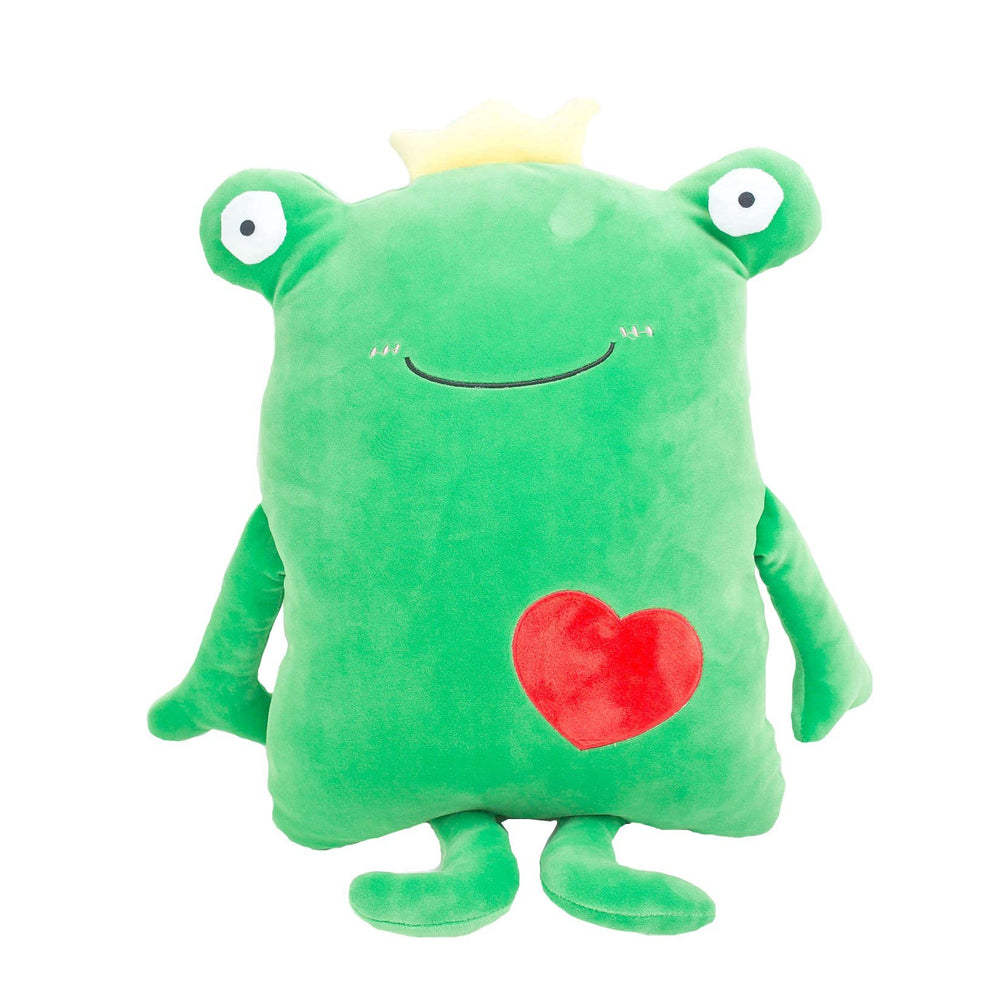 "110cm/43"" Giant Cute Stuffed Frog with Heart"