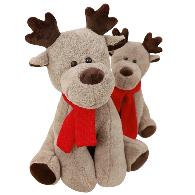 "63cm/24"" Giant Stuffed Reindeer Christmas Decoration"
