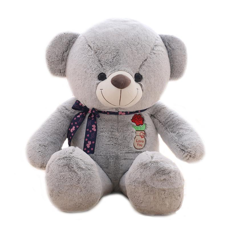 "125cm/49"" Giant Teddy Bear Soft Toy Gift for Valentine's Day"