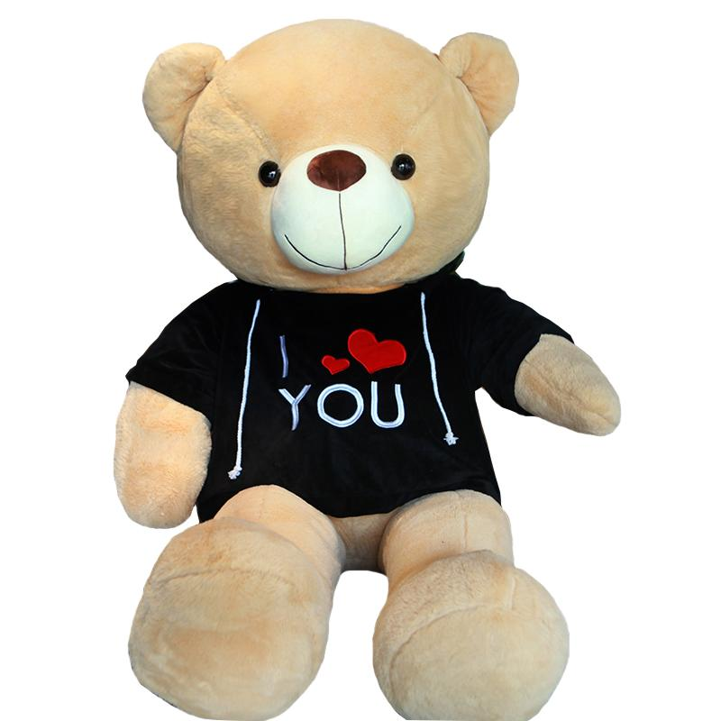 Giant Teddy Bear with T-shirt for Valentine's Day