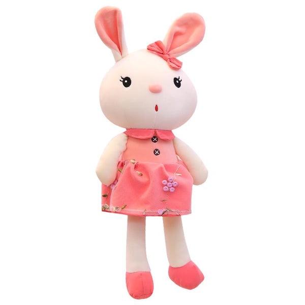 Pretty Stuffed Girl Rabbit with Dress