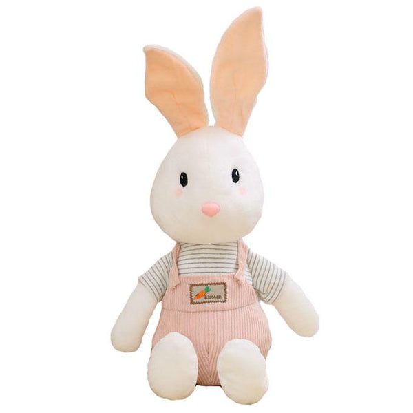 "95cm/37"" Giant Stuffed Bunny with Overalls"