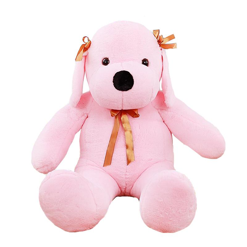 "120cm/47"" Giant Stuffed Dog Plush Animal Pillow 4 Colors"