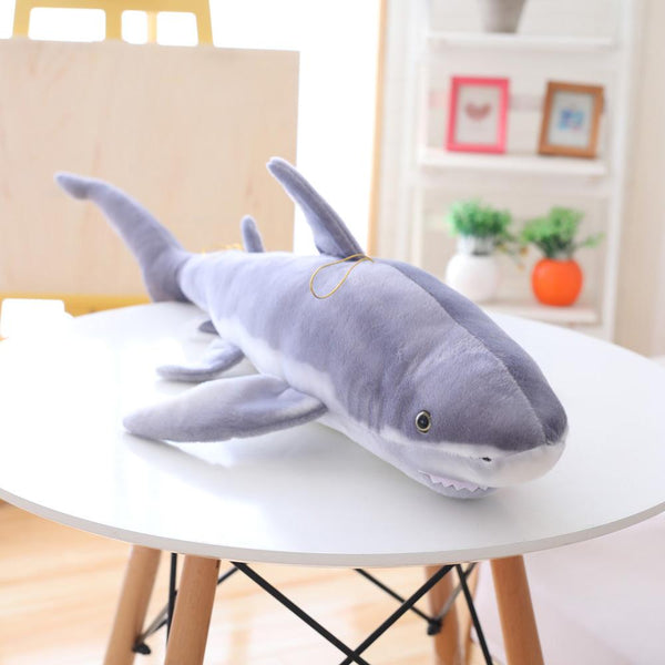 Giant Realistic Stuffed Shark-Mr. Shark