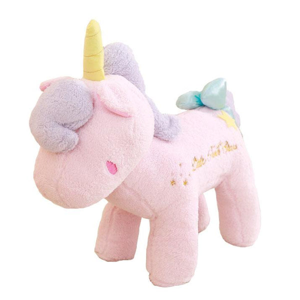 "85cm/33"" Giant Stuffed Unicorn with Little Fun Stars"