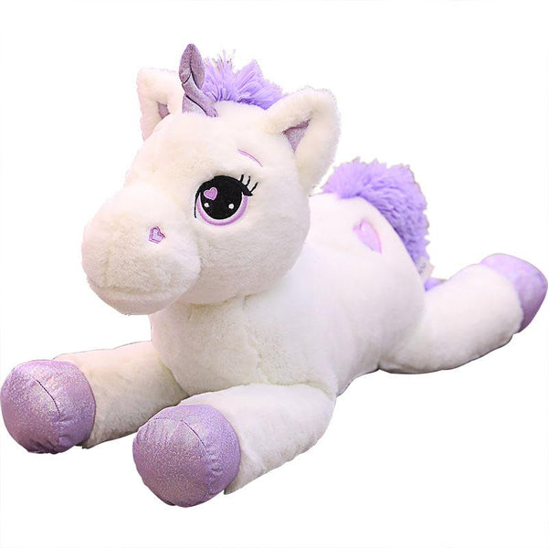 Giant Big Eyes Stuffed Unicorn