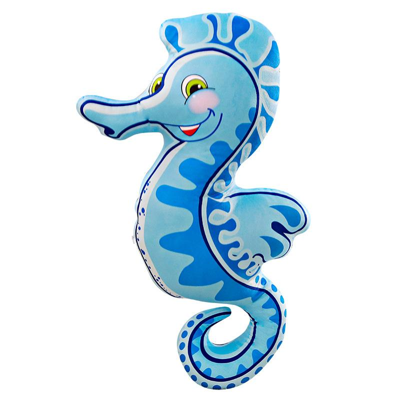 Giant Seahorse Pillow Stuffed Animal