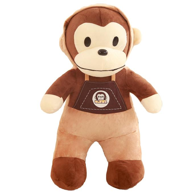 "90cm/35"" Giant Stuffed Monkey with Hat"