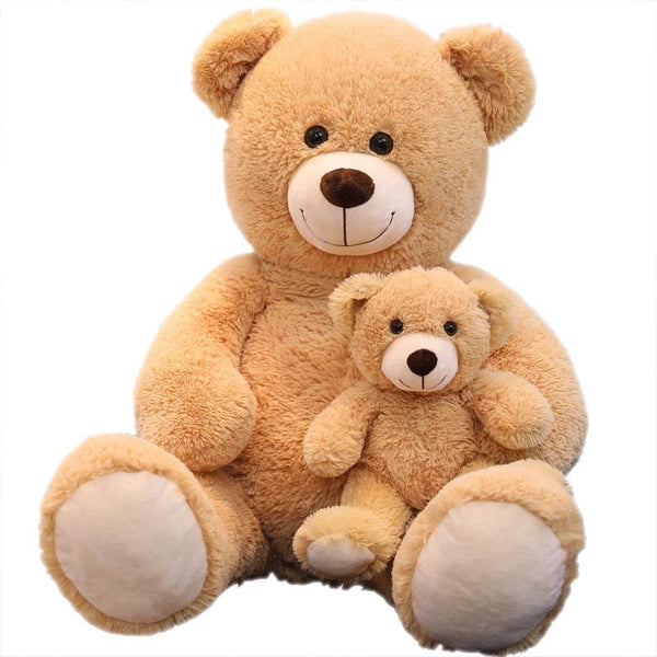 "100cm/39"" Giant Stuffed Bear with Little Teddy Gift for Mother's Day"
