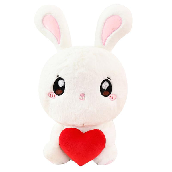 "90cm/35"" Giant Stuffed Rabbit with Heart"