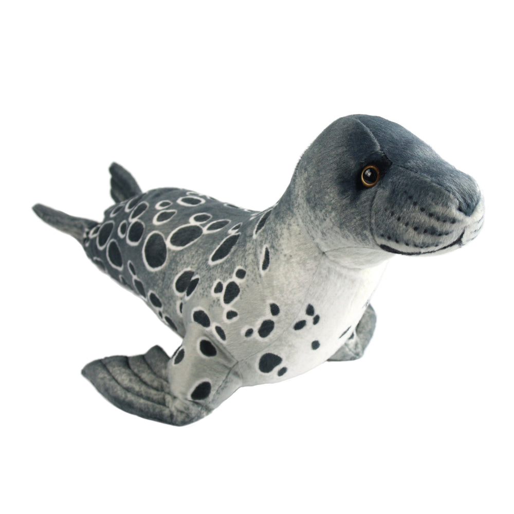 "55cm/21.5"" Big Grey Seal Plush Pillow as Home Decorations"