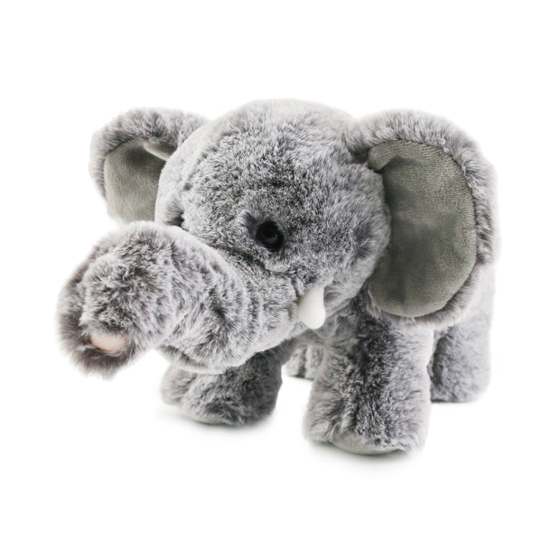 "35cm/14"" Realistic Small Elephant Stuffed Animal Bedtime Plush Toy"