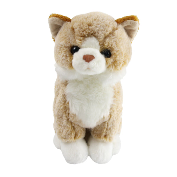 "22cm/9"" Orange Cat Realistic Stuffed Animal That Look Real as Baby Gift"