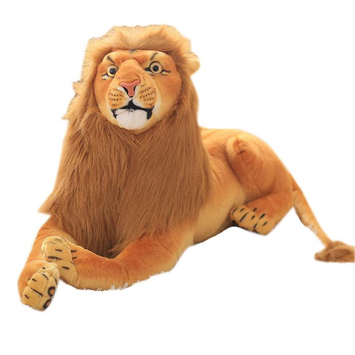 Giant Realitic Lion Stuffed Animal