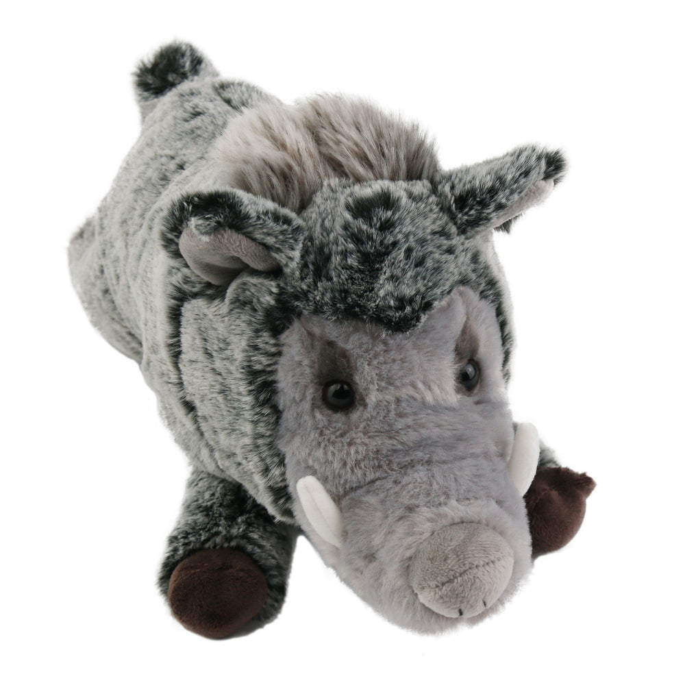 "31cm/12.5"" Realistic Wild Boar Stuffed Animal Soft Plush Toy"