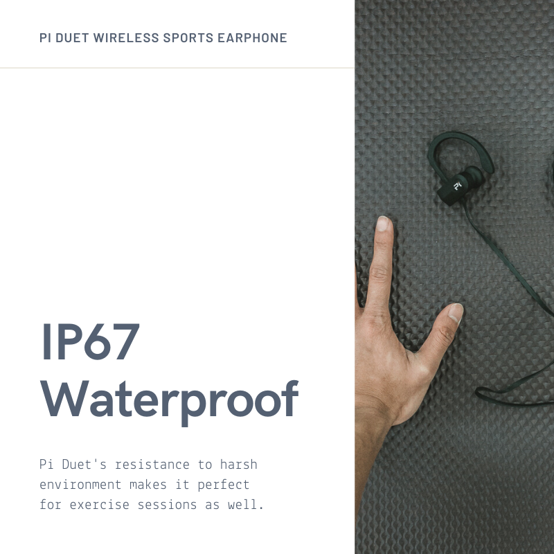 Pi Duet Sports Wireless Earphones - Pi Electronics