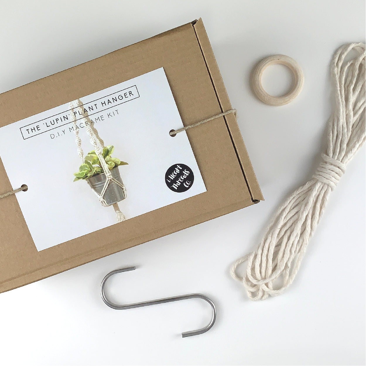 THE 'LUPIN' PLANT HANGER - D.I.Y KIT