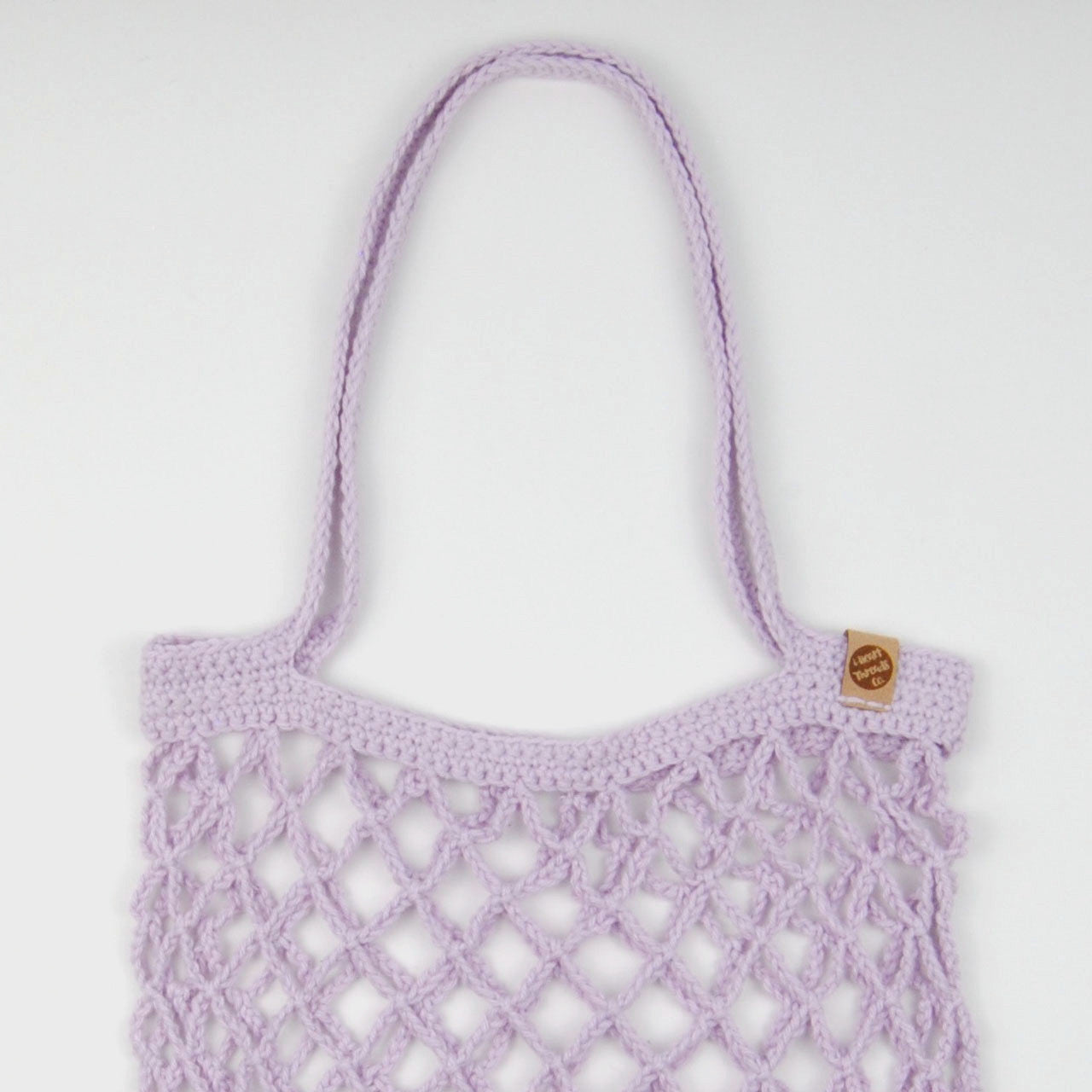 THE 'CHICORY' MARKET BAG //lilac//