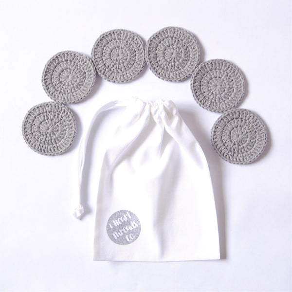 ORGANIC COTTON FACIAL SET