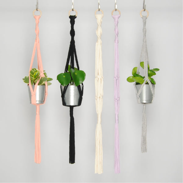 THE 'MINI-PRIM' PLANT HANGER //grey//