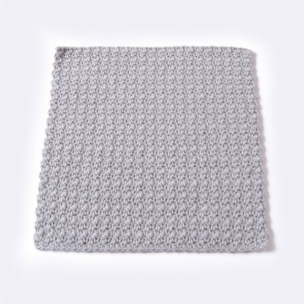 ORGANIC COTTON FACIAL CLOTH //grey//