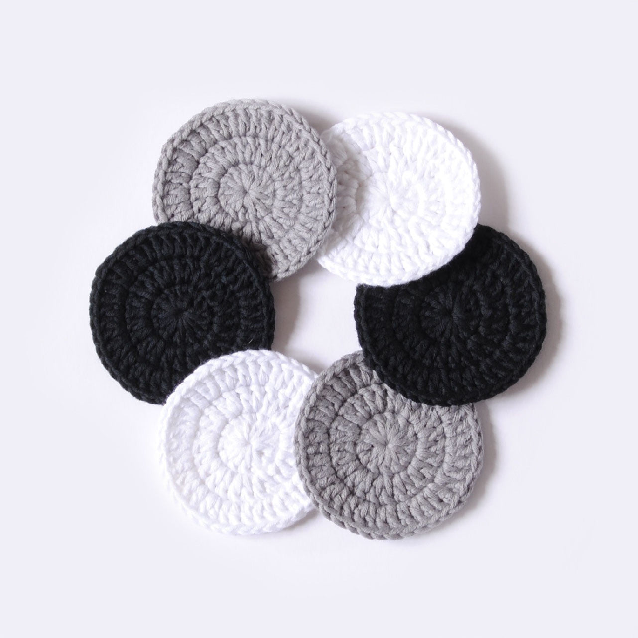ORGANIC COTTON FACIAL ROUNDS //mixed//