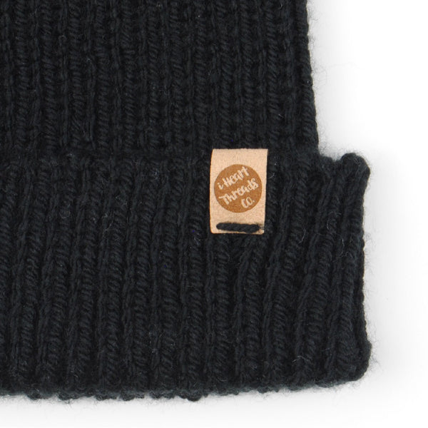THE 'SORREL' BEANIE //black//