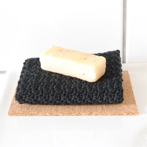 ORGANIC COTTON FACIAL CLOTH //black//