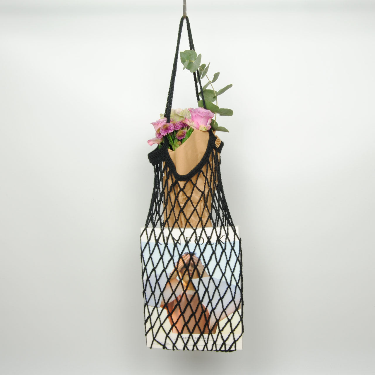 THE 'CHICORY' MARKET BAG //black//