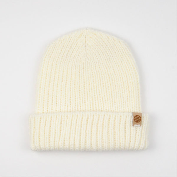 THE 'SORREL' BEANIE //ivory//