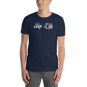 "VinylWear ""Pop Life"" Short-Sleeve Unisex Dark T-Shirt w/ FPBST on back"