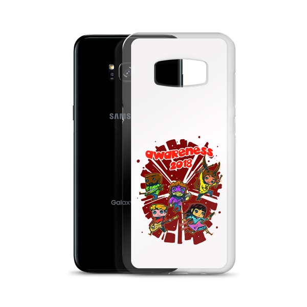 PROJECT #3 AWARENESS 2018 White Samsung Case